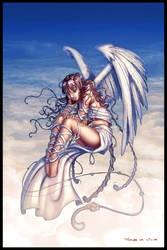 Fly angel by Grafik by Tania-S