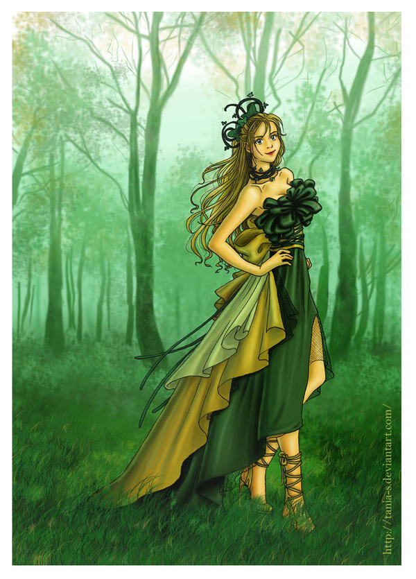 Nature fairy by Tania-S