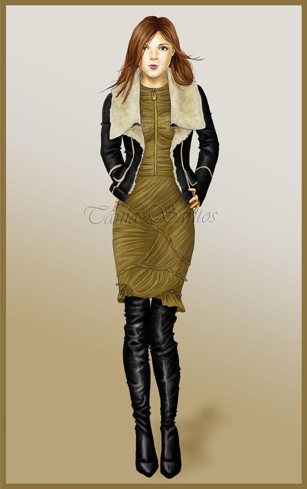 Fashion illustration 3 by Tania-S