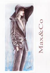 Max Co -  fashion illustration by Tania-S