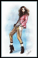 Fashion illustration 5 by Tania-S