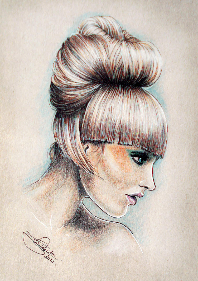 fashion portrait by Tania-S