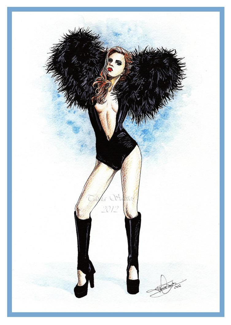 Regina Feoktistova - fashion illustration by Tania-S