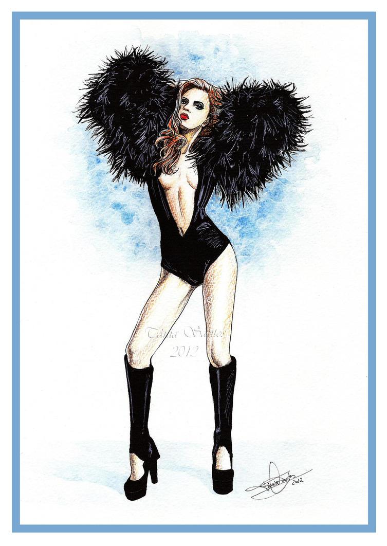 Regina Feoktistova - fashion illustration by Tania-S