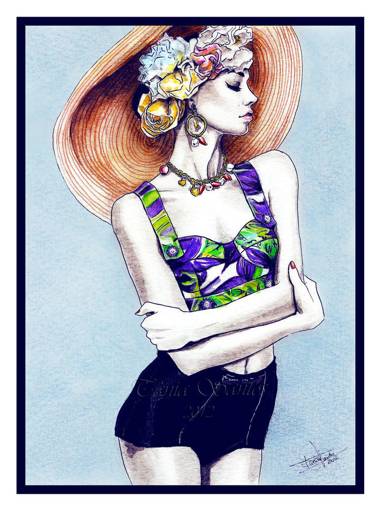 Fashion illustration - Dolce Gabbana by Tania-S