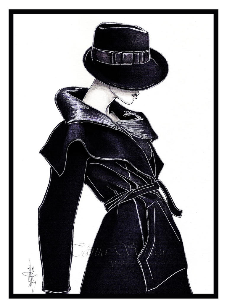 Armani illustration by Tania-S