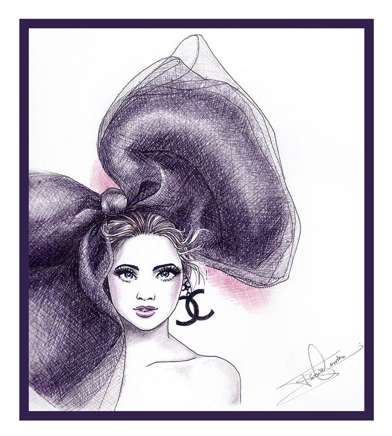 Chanel illustration by Tania-S