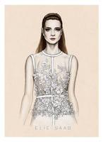 Fashion Illustration: Elie Saab  SS14 by Tania-S