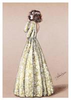 Delphine Manivet - fashion illustration by Tania-S
