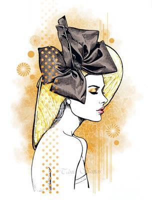Lauren Calaway illustration by Tania-S