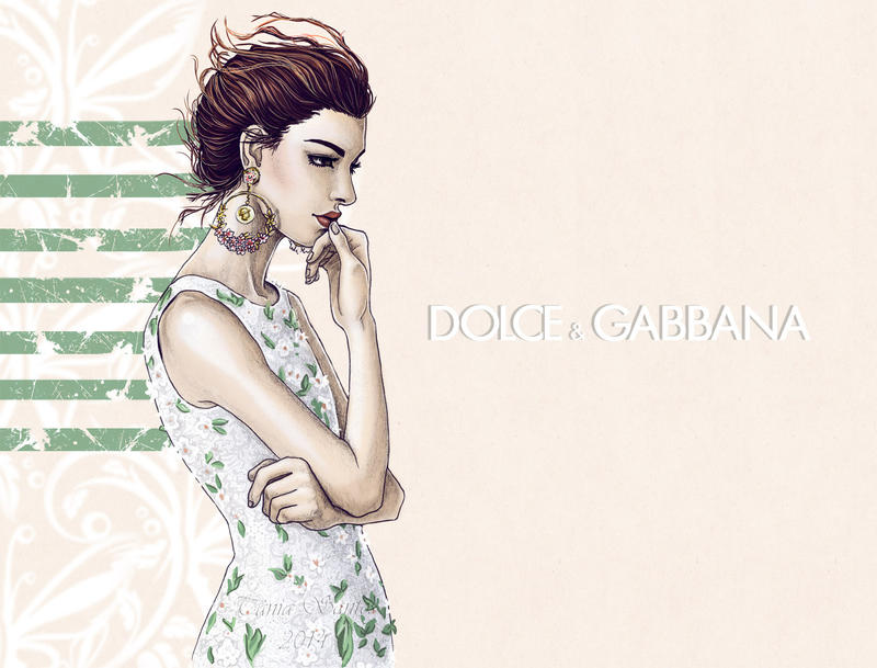 Dolce e Gabbana SS14 by Tania-S
