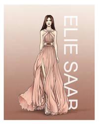 Elie Saab AW 2014-15 by Tania-S