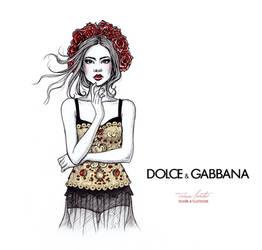 Dolce Gabbana SS2015 by Tania-S
