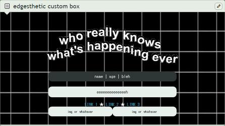 edgesthetic custom box [ftu] by qrassy