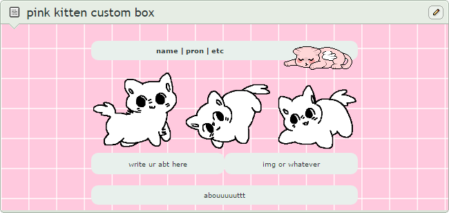 pink kitten custom box code [ftu] by qrassy