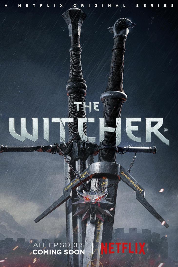 The Witcher Netflix Series Poster by ZaetaTheAstronaut