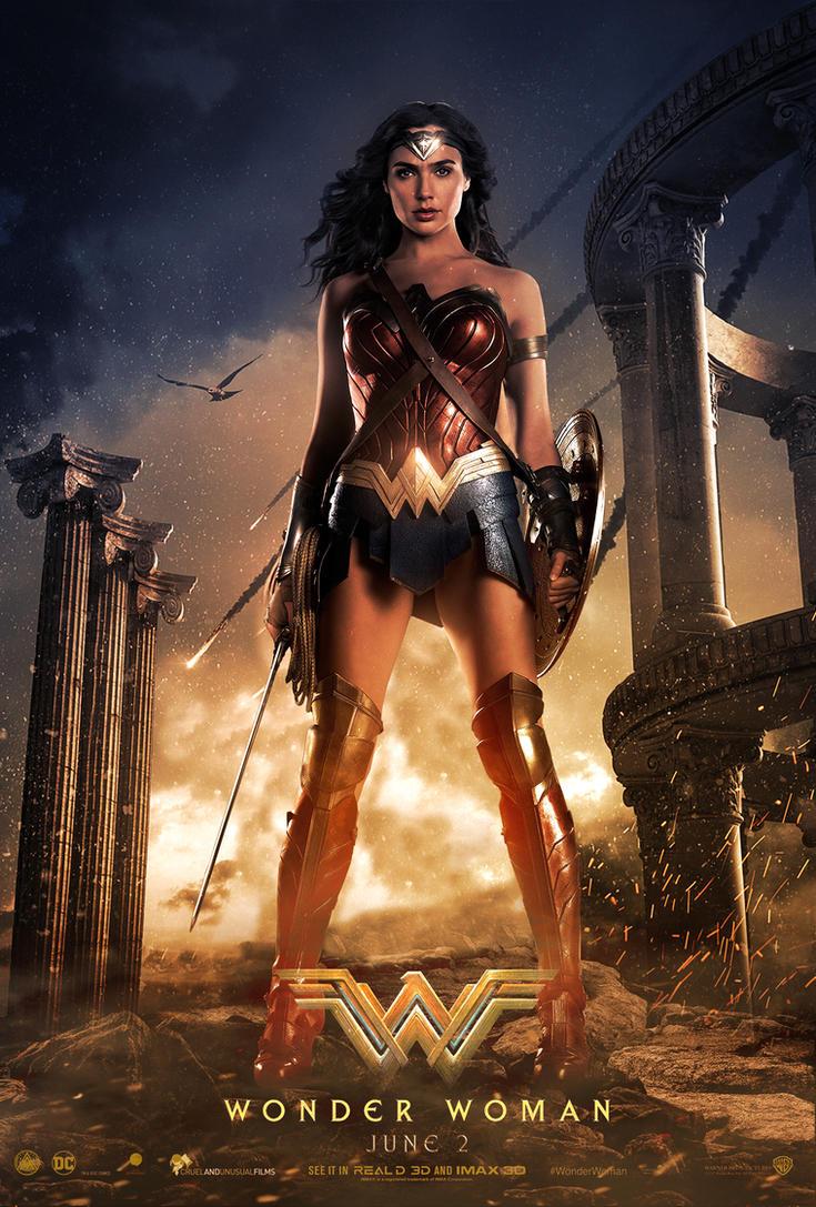 Wonder Woman Movie Poster 2 by ZaetaTheAstronaut