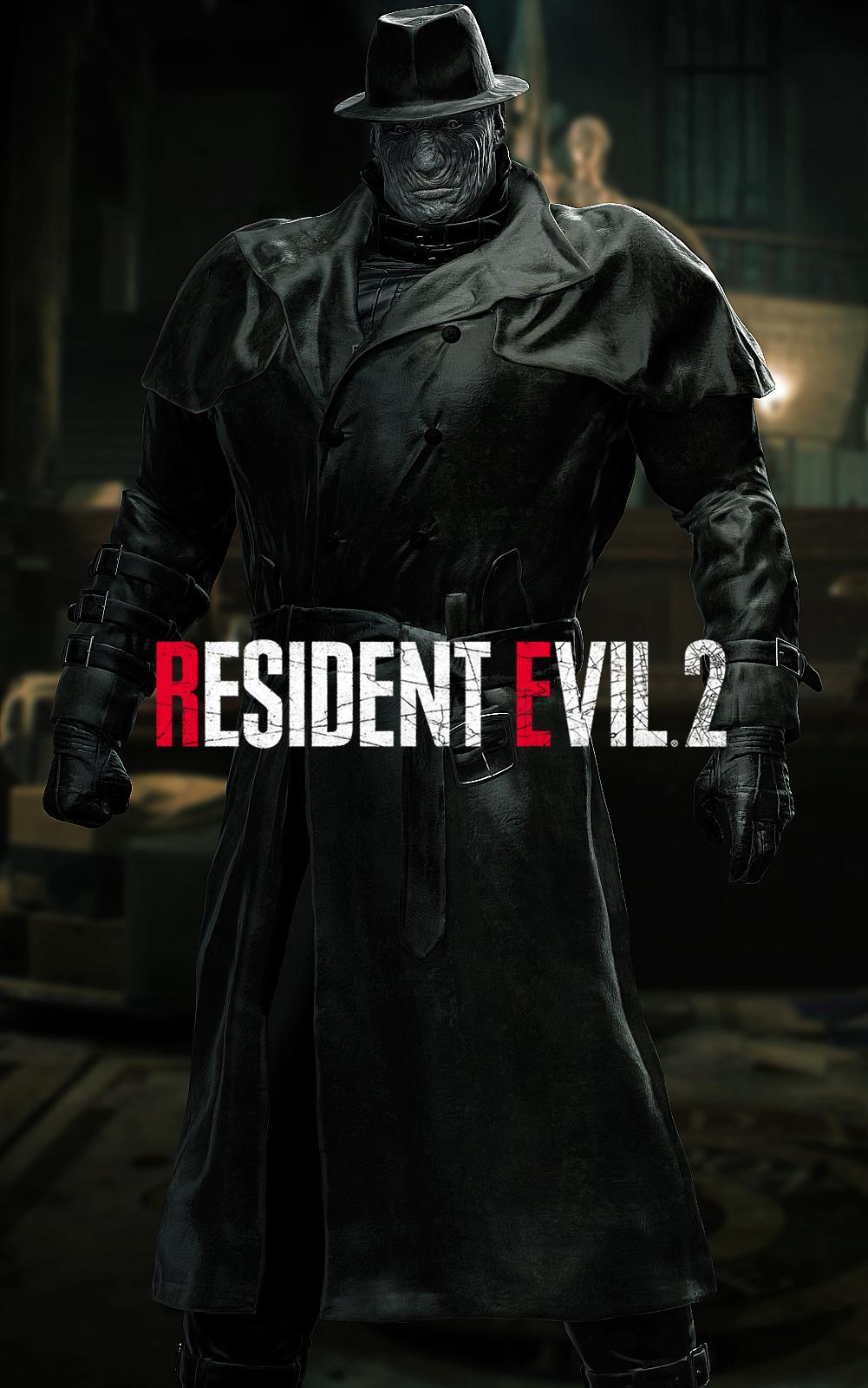 Resident Evil 2 Tyrant Mr X By Zaetatheastronaut On Deviantart