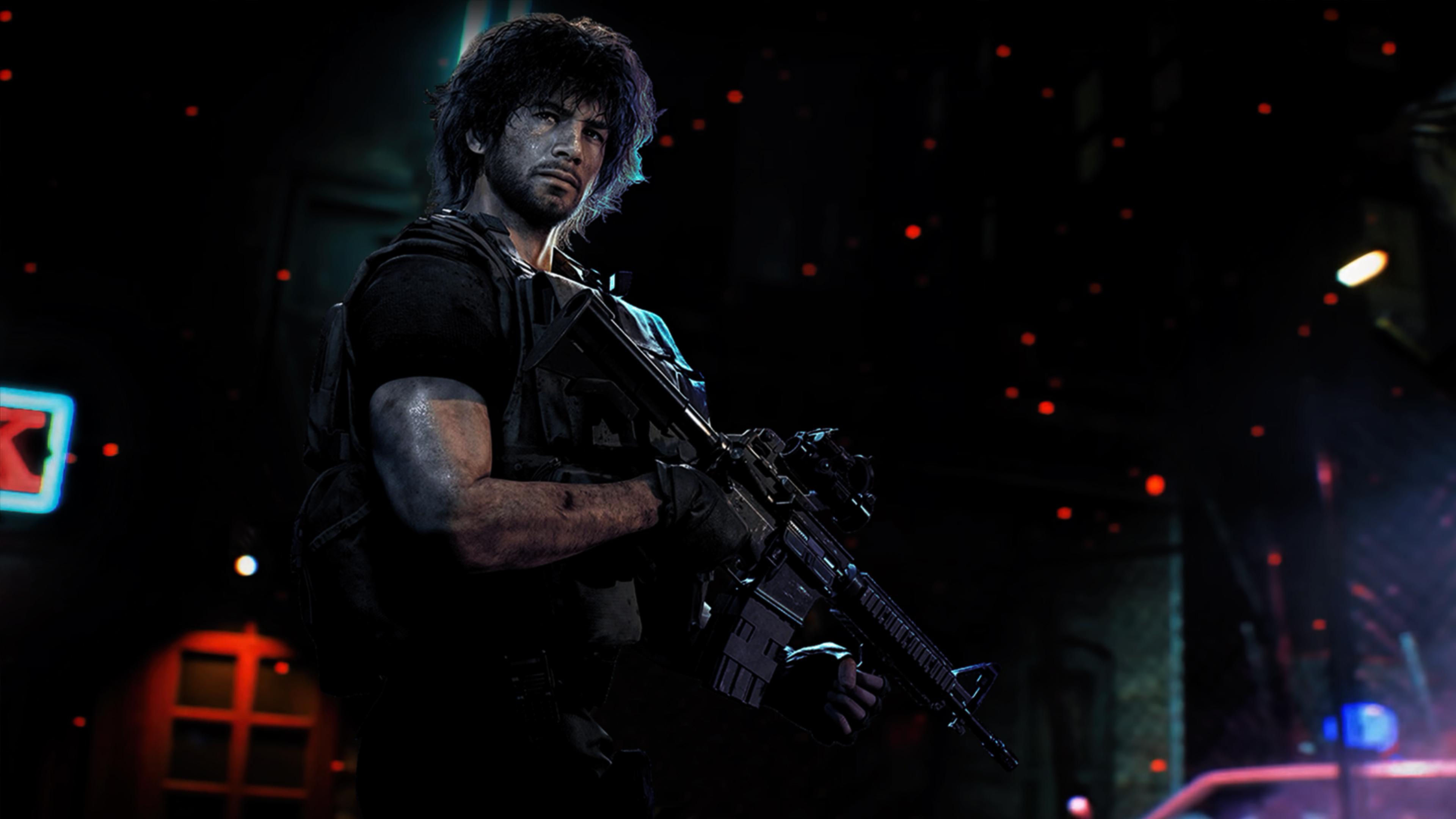 Resident Evil 3 Remake Carlos Wallpaper 4k By