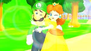 Luigi and daisy love