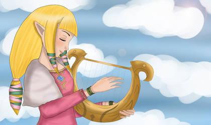 Princess Zelda by NorHay