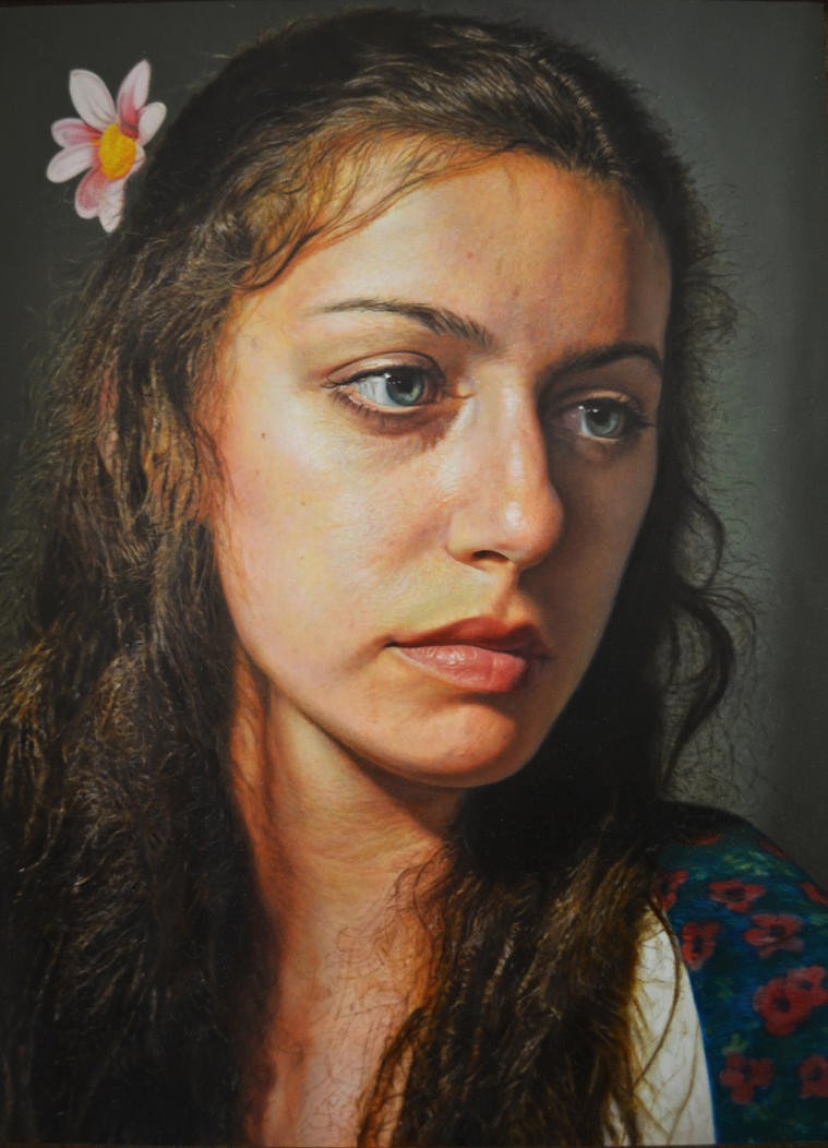 Portrait of Emily by dcrivera