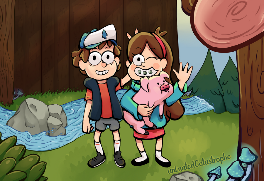 Mystery Twins by animatedCatastrophe