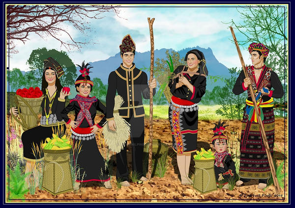 Once upon a time in Borneo by zichonilpindi