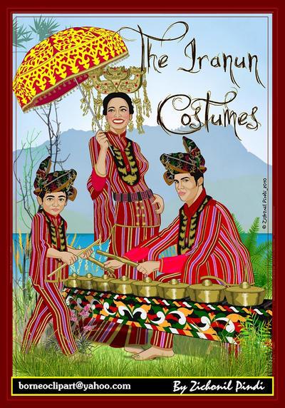 The Iranun Costumes by zichonilpindi on DeviantArt