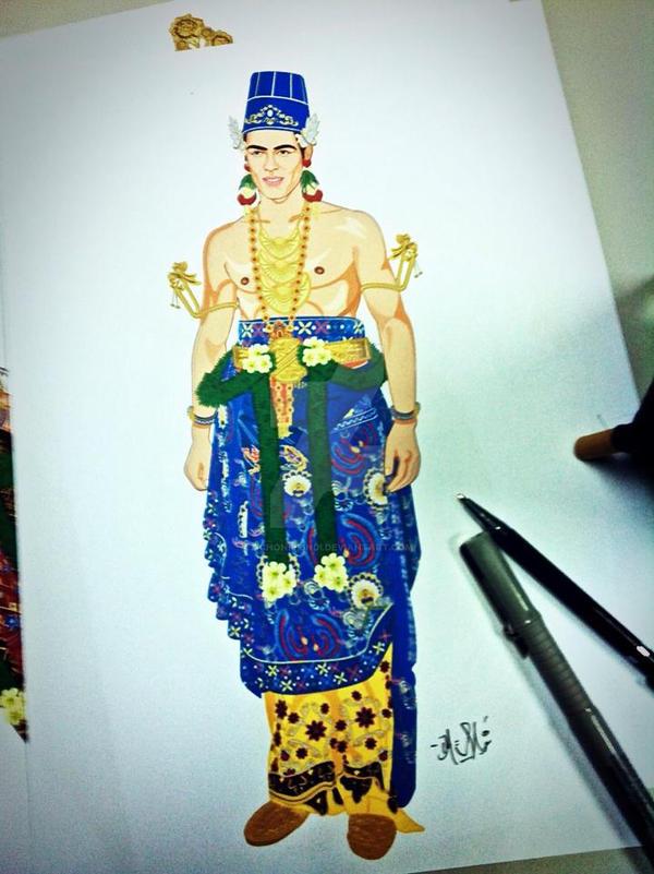 Indonesian Costume by zichonilpindi