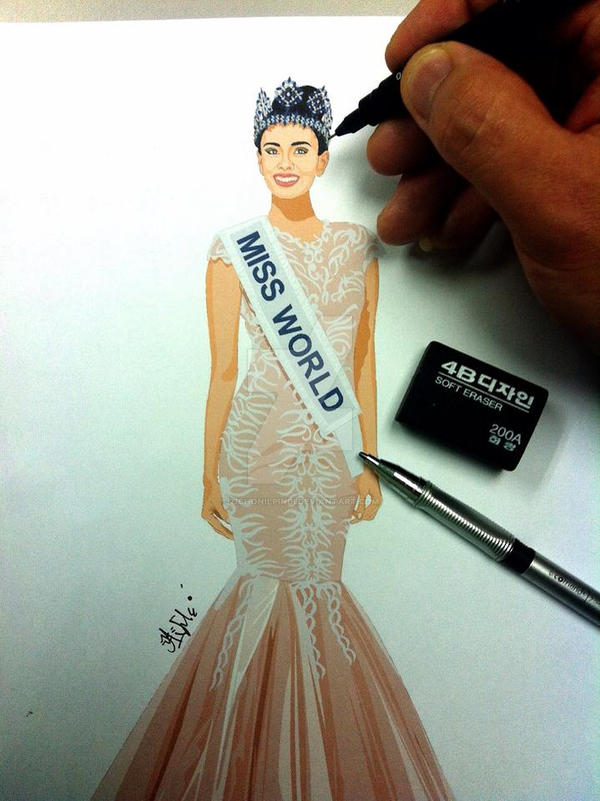 MIss World 2013 (Megan Young) by zichonilpindi