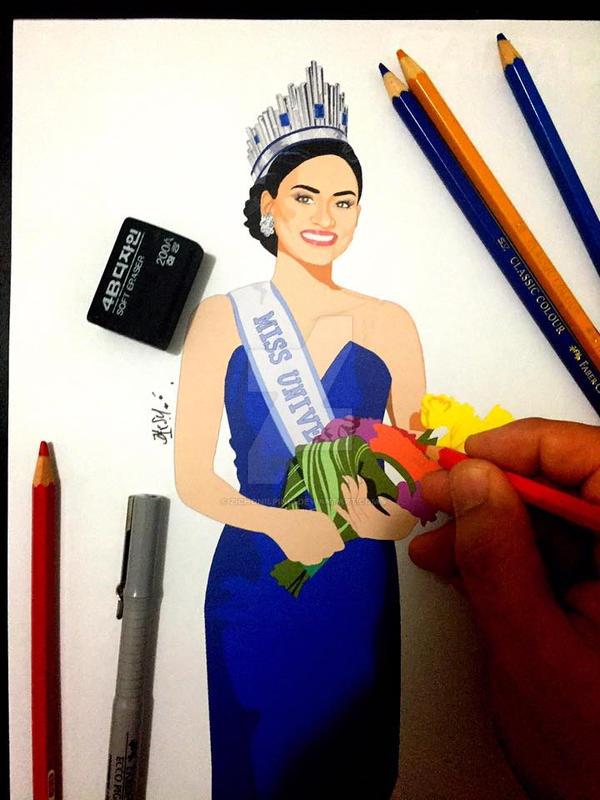 Miss Universe 2015 by zichonilpindi