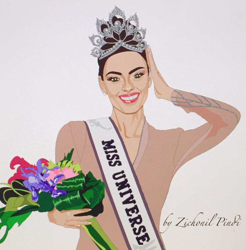 Miss Universe Crown Cartoon : Miss angola to be crowned miss universe.