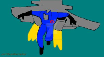 Cobra Commander With jetpack by LordThundercracker