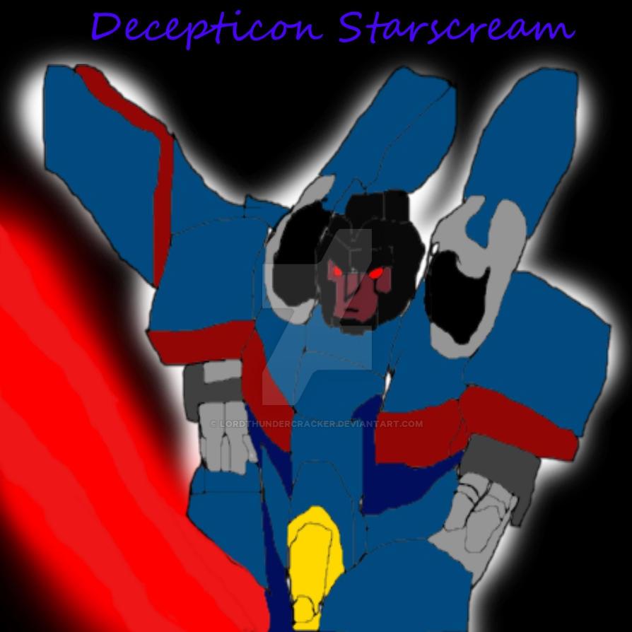 Armada Starscream (Blue) by LordThundercracker