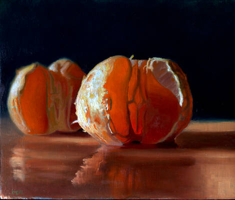 Cut citrus by Scott Kiche sold. 9 x 10