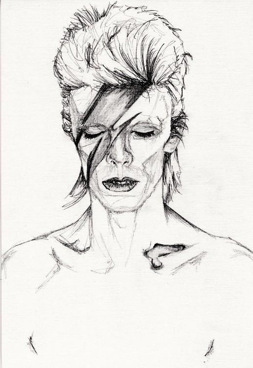 David Bowie by MissGeorgeSpiggott