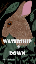 WaterShip Down Book Cover Illustration