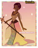Concept art Princess Adani by Kwaene