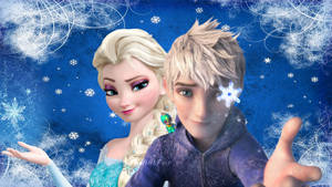 Jack and Elsa- Snowflakes forever
