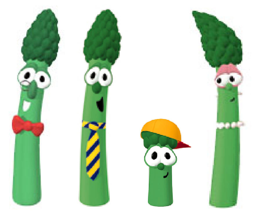 asparagus family by artist892 on deviantart