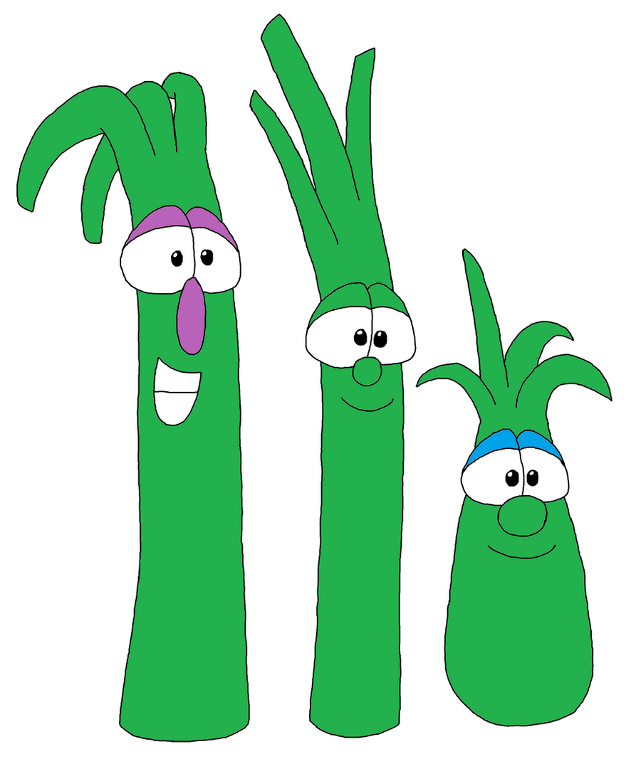 Veggietales lovey asparagus