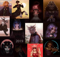 2019 ArtFight Dump