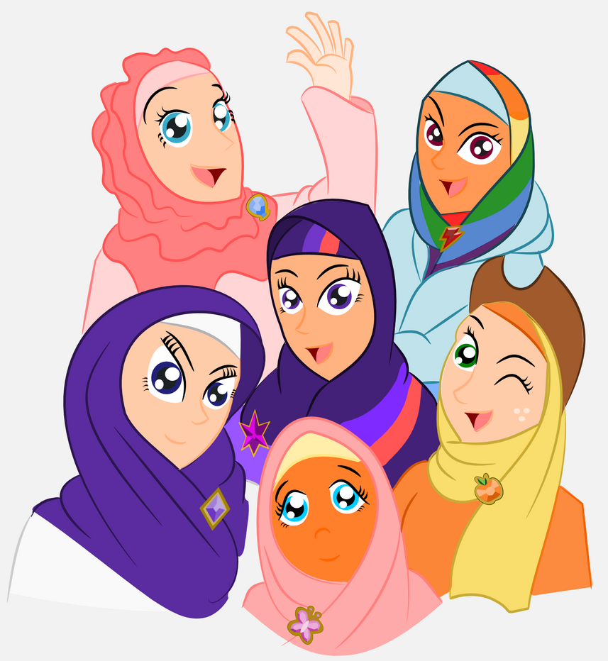 trying out the hijab by poecillia gracilis19