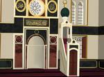 Qiblah Wall