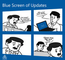 Blue Screen of Updates