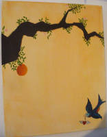 Orange Tree by alegwene