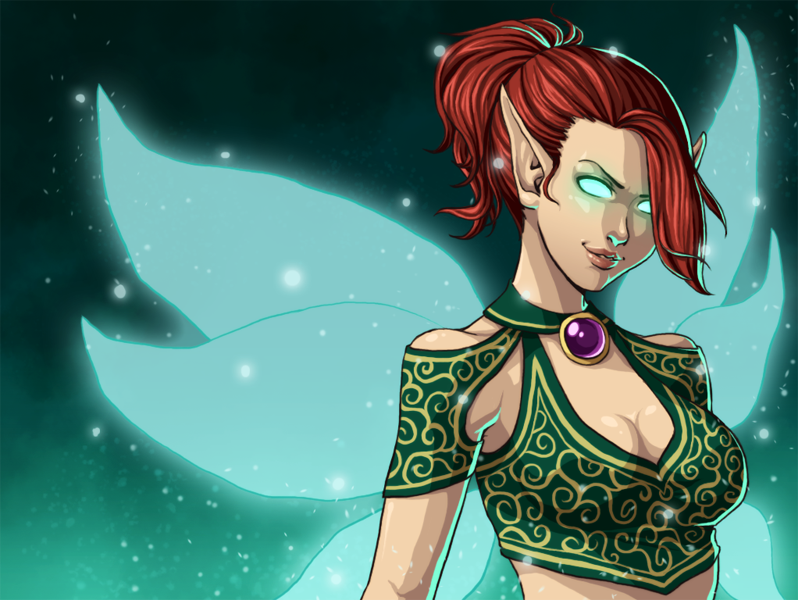 Heroes of Newerth - Nymphora by Lyshantia