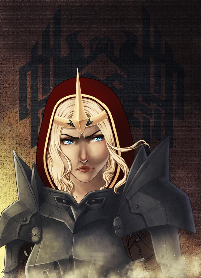 Dragon Age 2 - Meredith by Lyshantia
