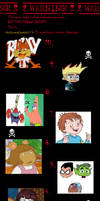 Top 10 Hated Cartoon Characters